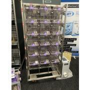 Regał IVC NexGen z 18 klatkami dla myszy z wentylatorem EcoFlo