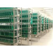 Modułowe systemy hodowlane wymagające filtracji centralnej